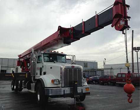 nyc boom Trucks